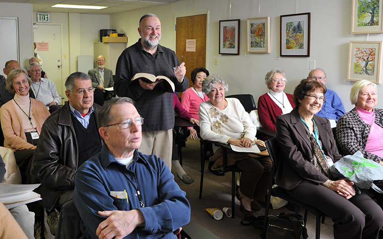 Osher lifelong learning students